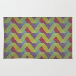Ribbon Geometry Rug