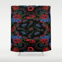 russian Shower Curtains featuring Russian Style by Eduardo Doreni