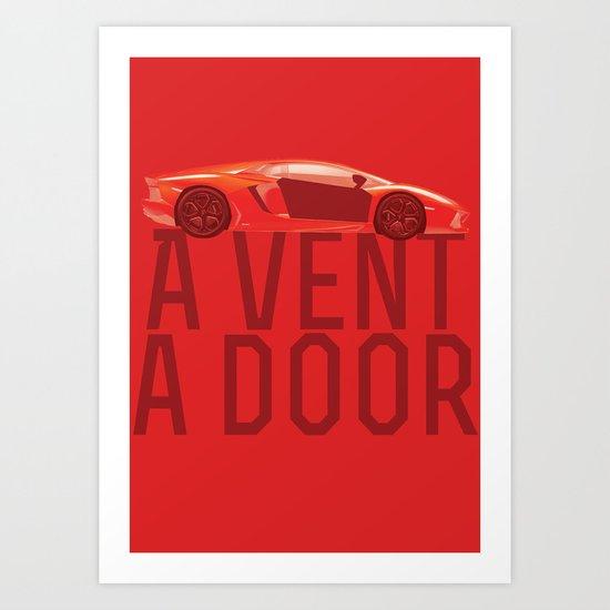 A Vent, A Door Art Print
