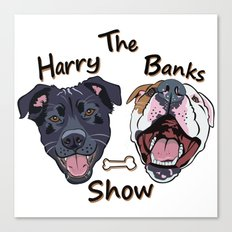 Harry Banks Show Canvas Print