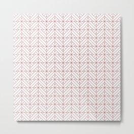 Vera Pattern Metal Print