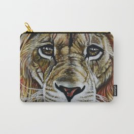 Beauty Lion Carry-All Pouch
