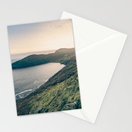 Keem Bay Sunset - nature photography Stationery Cards