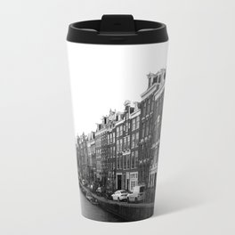 canal in Amsterdam Travel Mug