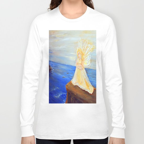 Invite your Angel | Angels are here Long Sleeve T-shirt