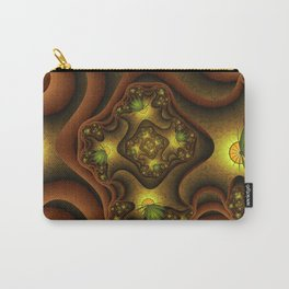 Abstract Insects, Fantasy Fractal Carry-All Pouch