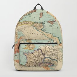 Vintage Map of The Roman Empire (1889) Backpack