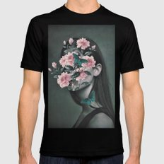 Inner beauty Black LARGE Mens Fitted Tee