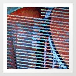 The String Sleep Art Print