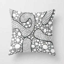 Line Study 3 Throw Pillow