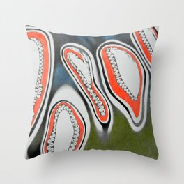 construction detail number 5 Throw Pillow