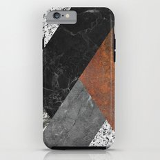 Marble, Granite, Rusted Iron Abstract Tough Case iPhone 6s