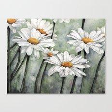 Karen's Daisies Canvas Print