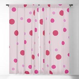 Classic Retro Dots 07 Blackout Curtain