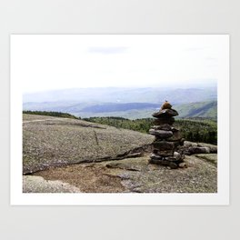 Mountain Carin 2 Art Print