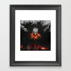 Smoke and Ash :: Reaper Framed Art Print
