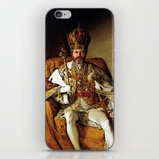 Nick Offerman Is KING!  |  Ron Swanson  |  Parks and Recreation iPhone Skin