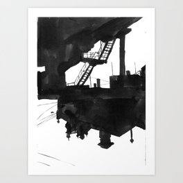 Railway VII Art Print