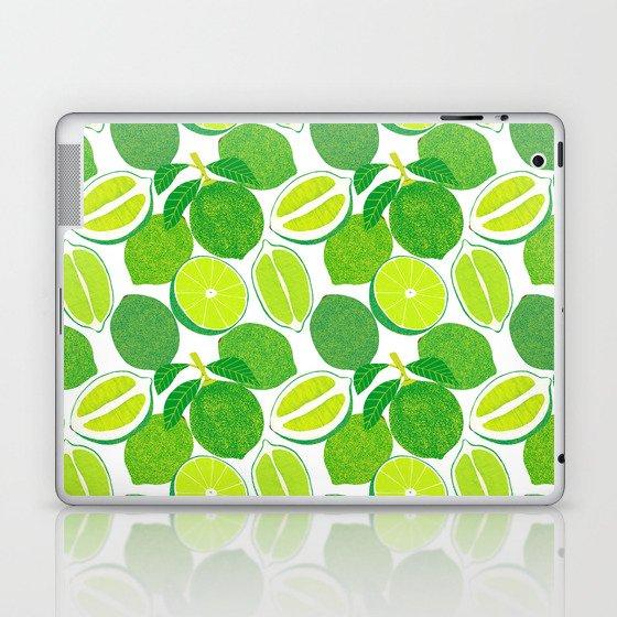 Lime Harvest Laptop & iPad Skin