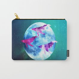 NOCTURNE : ASTRAL WHALES Carry-All Pouch