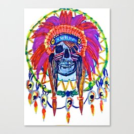 Resurrection Rave Canvas Print