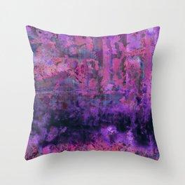 Saltwater Pink Throw Pillow