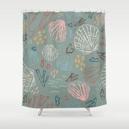 Deep-sea Treasures Shower Curtain
