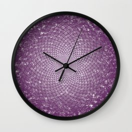 The Crown Chakra Wall Clock