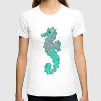 seahorse T-shirts featuring SEAHORSE by Catspaws