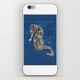 sea horse iPhone Skin