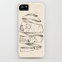 Twister Skull iPhone Case