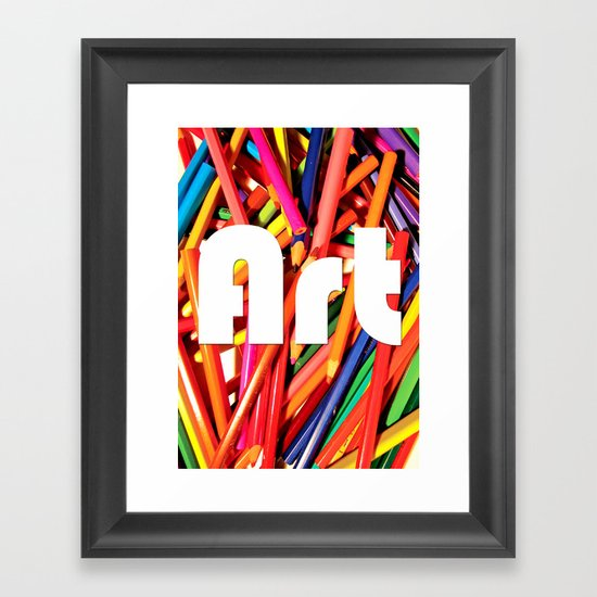 Pencil Art Framed Art Print