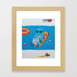 The Morning After The Night Before Framed Art Print