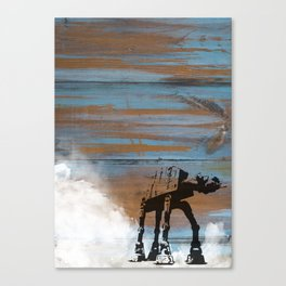 Blue Hoth Canvas Print