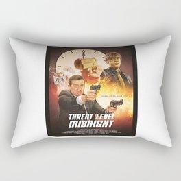Threat Level Midnight Rectangular Pillow