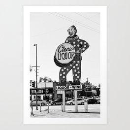 Circus Liquor Art Print