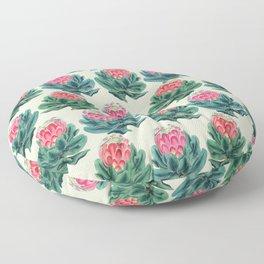 Protea flower garden Floor Pillow