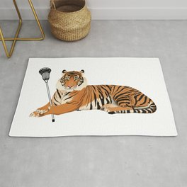 Lacrosse Tiger Rug