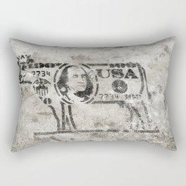 BW Cash Cow Rectangular Pillow
