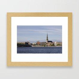Riga Old Town Framed Art Print