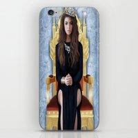 lorde iPhone & iPod Skins featuring Lorde by Justinhotshotz