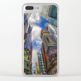 New York, USA Clear iPhone Case