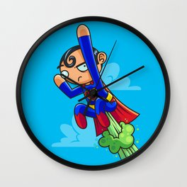 Up Up And HRNN Wall Clock