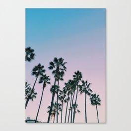 Palms Palms Palms Canvas Print