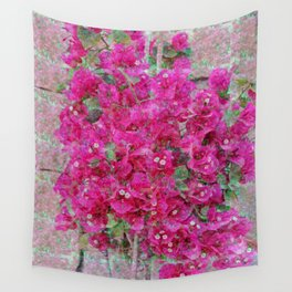 Magic flower Wall Tapestry