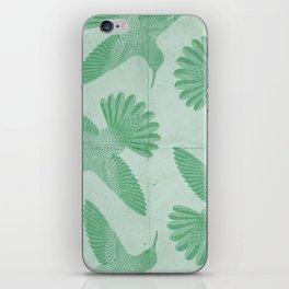 Hummingbird Pattern iPhone Skin
