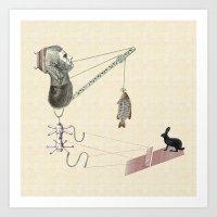 Little Monster #6 Art Print