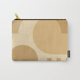 42507-2-p1, Warm Yellow , Bauhaus Style Art, Boho decor Carry-All Pouch