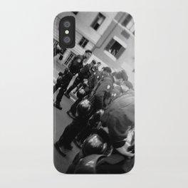 Roman student protest iPhone Case
