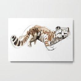 Totem Andean cat (AGA) Metal Print